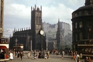 Rare colour archive of Edinburgh in 1930s has been remastered.