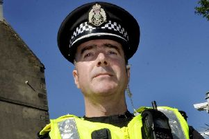 Chief Inspector Kevin McLean is North East Edinburgh Area Commander. Picture: Colin Hattersley