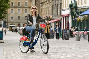Just Eat is set to sponsor Edinburgh's cycle hire scheme.