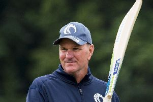 Grant Bradburn is stepping down as Scotland cricket coach. Picture: Ross MacDonald/SNS