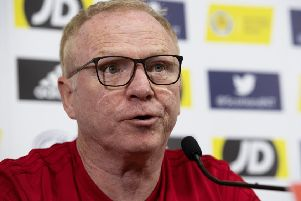 Alex McLeish believes his formation is the right one for Scotland