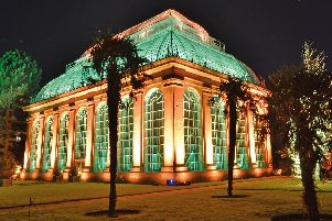 Christmas at the Botanics will turn the venue into a dazzling winter wonderland