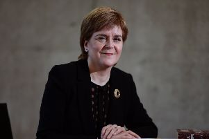 Nicola Sturgeon opened up about her experience of childhood bullying at a special FMQs for Scotland's Year of Young People. Picture: John Devlin