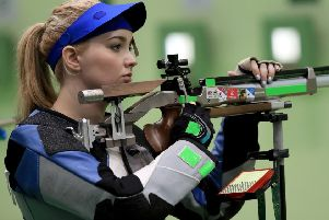 Jen McIntosh has retired from shooting at the age of 27. Picture: Getty Images