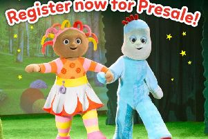 The live show of In the Night Garden is coming to Edinburgh in April. Picture: In the Night Garden Facebook.