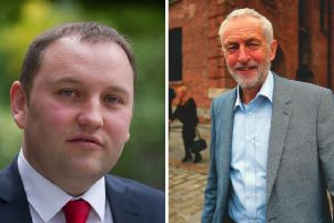 Ian Murray MP (left) criticised the Labour leader. Pictures: TSPL