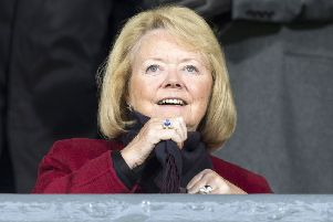 Hearts owner Ann Budge. Pic: SNS