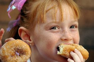 Doughnuts couild be classed as a 'naughty' food by the Scottish Government