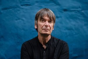 Master craftsman Ian Rankin. Picture: AFP/Getty Images