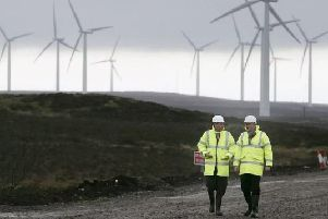 Scottish Power announced it will switch to 100% wind power.