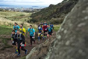400 runners took part in The Ultra Tour of Edinburgh (UTE), a 55km (approx. 34 mile) ultra distance run in the Scottish capital. Picture: contributed