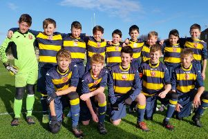 Peebles Under-13s made progress in the Challenge Cup