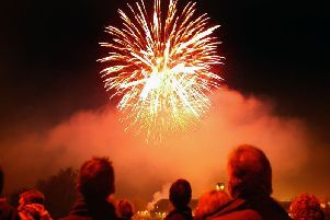 Fireworks displays will be taking place across Edinburgh and the Lothians.