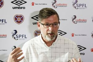 Hearts boss Craig Levein speaks to the media ahead of his side's match with Celtic. Picture: SNS Group