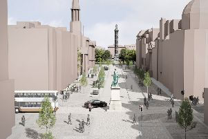 The city's pedestrian-friendly vision for George Street