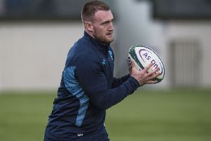 Scotland's Stuart Hogg returns to the fold after injury. Picture: SNS