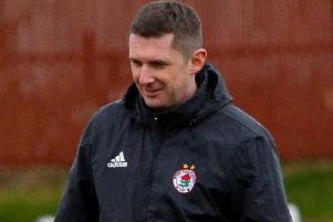 Robbie Horn is back in charge of Bonnyrigg Rose