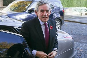 Gordon Brown has come out in favour of a second EU referendum. Picture: AFP/Getty