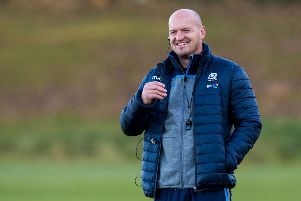 Gregor Townsend has made six changes to his Scotland team. Picture: SNS Group