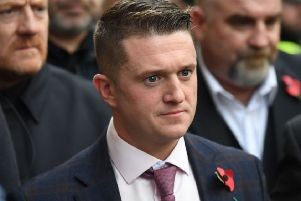 Tommy Robinson has had previous with football clubs north and south of the border. Picture: CHRIS J RATCLIFFE/AFP/Getty