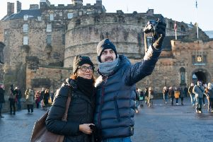 The council's relentless drive to attract more tourists to Edinburgh is proving controversial. Picture: Ian Georgeson