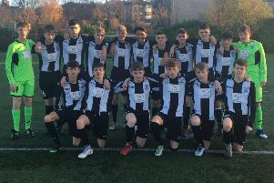 Leith Athletic Under-16s progressed in the Inspiresport Scottish Cup. Pic: TSPL