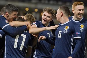 A James Forrest hat-trick ensured Scotland topped their Nations League group - but what now for the Scots? Picture: SNS Group