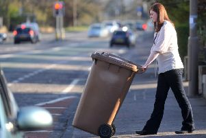 Brown bin service has been plagued by problems. Picture: Jane Barlow