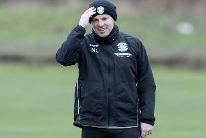 Neil Lennon insists he has a 'very good job' with Hibs. Picture: SNS Group