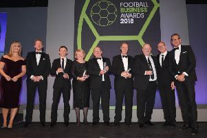 Nominees of the 'CEO Of The Year' award, including Ann Budge. Pic: Stuart C. Wilson/Getty