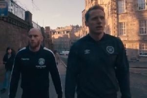 David Gray and Christophe Berra star in the ad