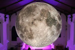 'Museum of the Moon' a  seven metre-wide inflatable will be at St Giles Cathedral for the Burns & Beyond event which runs from 22-27 January. Picture: contributed