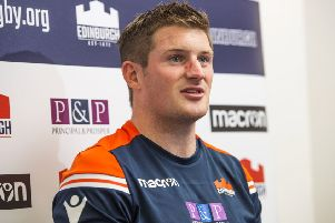 James Johnstone has grasped his chance with Edinburgh