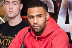 Lewis Benson is hoping to secure a title fight with victory in Glasgow on Friday night