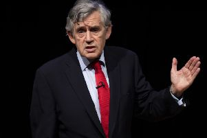 Former Labour Prime Minister Gordon Brown. Picture: Getty Images