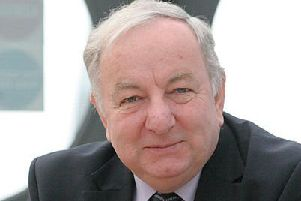 Former Hearts chairman Lord George Foulkes.