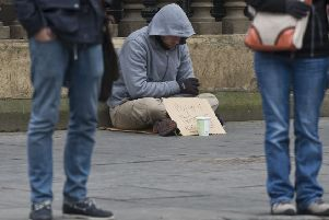 The alternatives to life on the streets can be bleak (Picture: Ian Georgeson)
