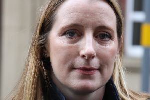 Outside Birmingham Coroners Court, Isabel Bathurst, a specialist travel lawyer from Slater and Gordon who is represented the Harry family reads a family statement. Picture: SWNS