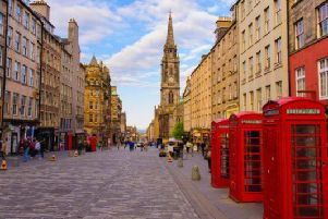 Historically, there has been some debate about the real length of Edinburgh's Royal Mile (Photo: Shutterstock)