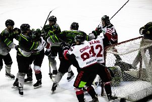 Tempers flared last weekend in the game against Hull Pirates. Picture: Ian Coyle