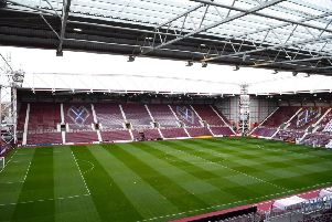 Hearts beat Motherwell 1 - 0 at Tynecastle. Pic: SNS
