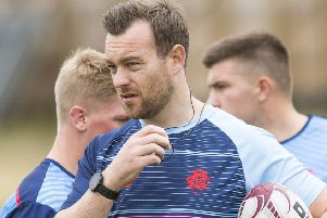 Edinburgh Accies coach Derek O'Riordan bloodied youngsters believing there was to be no relegation