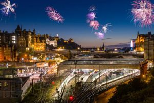 Want to make some last minute plans for Hogmanay in Edinburgh? Here's some inspiration (Photo: Shutterstock)