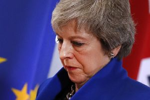 Theresa May lost the vote on her Brexit deal. (Picture: AP Photo/Alastair Grant)