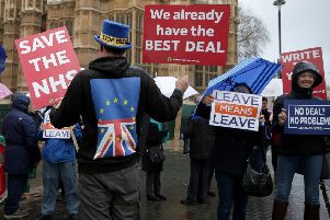 Campaigners on both sides of the Brexit divide should quit. Picture: AFP/Getty