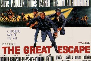 Angus Lennie is nowhere to be seen on The Great Escape's poster. Maybe he'd already scarpered to the Crossroads Motel