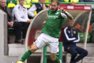 Hibs winger Martin Boyle. Picture: SNS