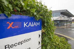 Kaiam Tech firm in Livingston has closed telling their workers not to return till after Christmas.