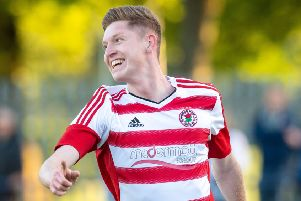Kyle Wilson scored a second-half hat-trick for Bonnyrigg