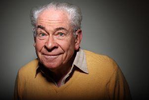 The one-hour special, The Old Lady of Leven Street, airs  on BBC Radio Scotland at 12.30pm and is a loving look back at the stars who have treaded the boards at the King's Theatre including Stanley Baxter (pictured).